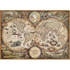 Barocke moderne Karte