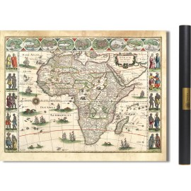 Afrika im Jahr 1630 von Willem Blaeu