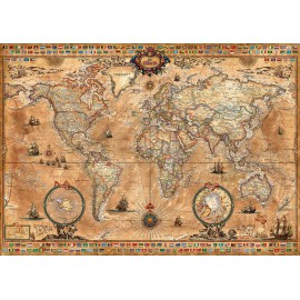 Carte moderne à la façon XVII eme Siécle