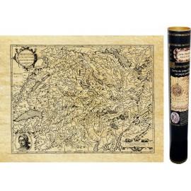 Alte Karte der Schweiz im Jahre 1592