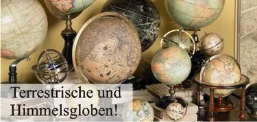 Globen und Objekte des Kartographen