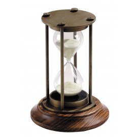 """Sanduhr """"30 Minuten"""" in Bronze"""