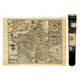 Carte de France ancienne en 1592