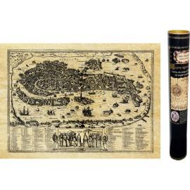 Carte de Venise ancienne