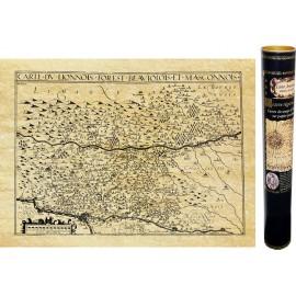 Lionnois, Beaujolois et pays Masconnois en 1610