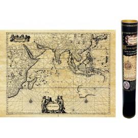 Indischer Ozean im Jahr 1650