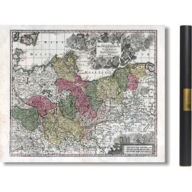 Brandenburgensis, Pomerania et Mecklenburgicus