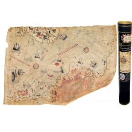 Karte des Admirals Kartographen Piri Reis - 1513