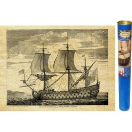 Schiff: Die königliche Sonne - Stich von 1685