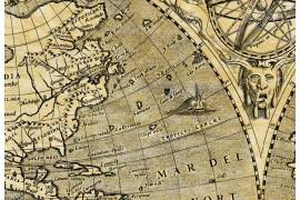 Weltkarte 1602