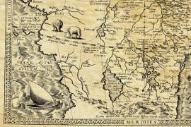 Quellen des Nils im Jahr 1572