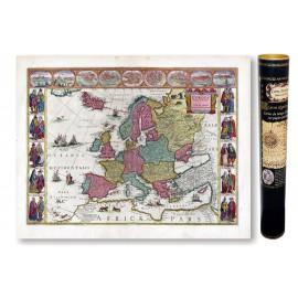 Europe en 1665