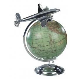 """1950 Vintage Earth Globe """"An der Spitze der Welt"""""""
