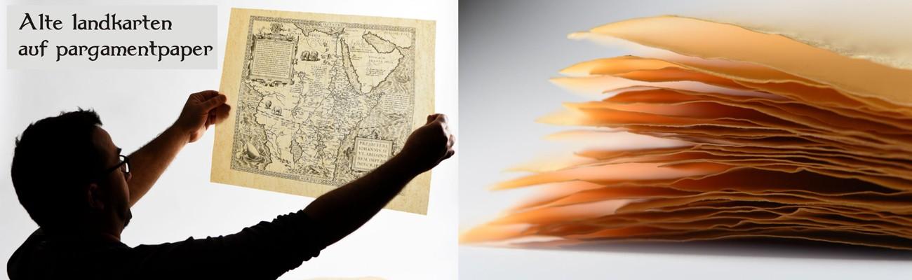 ANTICA, Alte landkarten